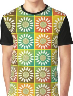 Floral tessellation Graphic T-Shirt