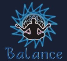 Men's ~ Balance: Meditation & sacred geometry by Leah McNeir