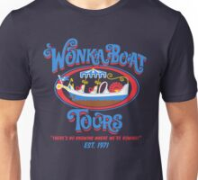 Wonka boat tours Unisex T-Shirt