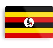 Uganda Flag Metal Print