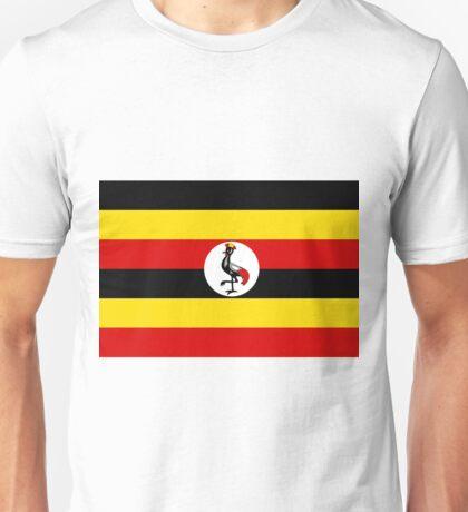 Uganda Flag Unisex T-Shirt