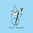 Pizza Wizzard by obinsun