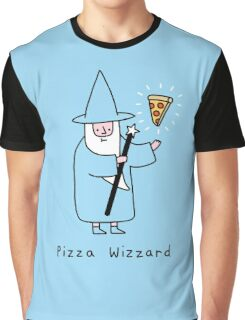 Pizza Wizzard Graphic T-Shirt