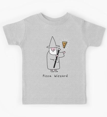 Pizza Wizzard Kids Tee