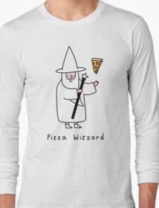 Pizza Wizzard Long Sleeve T-Shirt