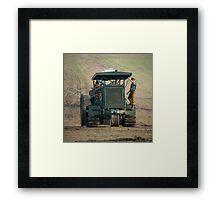 Gun Tractor  Framed Print