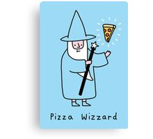Pizza Wizzard Canvas Print