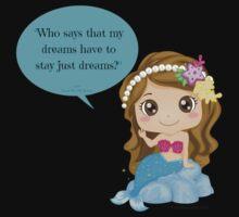 Mermaid Dreams Kids Tee