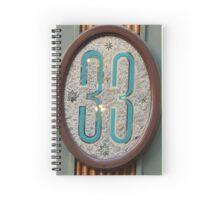 CLUB 33 Spiral Notebook
