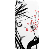 Blowing Kisses iPhone Case/Skin
