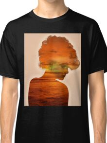 Woman immersed in the sunset.  Classic T-Shirt