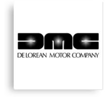 DeLorean Motor Co. logo Canvas Print