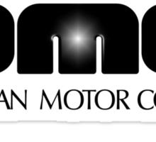 DeLorean Motor Co. logo Sticker