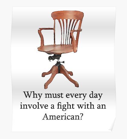 Dowager Countess: why must every day involve a fight with an American? Poster
