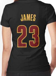 Lebron James Women's Fitted V-Neck T-Shirt