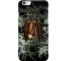 Flying Fox Bat in Bamboo Forest iPhone Case/Skin