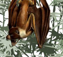 Flying Fox Bat in Bamboo Forest Sticker