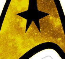 Space Starfleet Insignia (command) Sticker