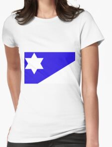 Branch Davidian Flag Womens Fitted T-Shirt