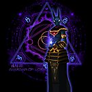 ☼ ☥  Anput, Guardian of Lore ☥ ☾  ~ (Anubis' Feminine Aspect) by Leah McNeir