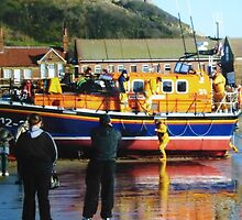 Scarborough lifeboat by Sue Gurney