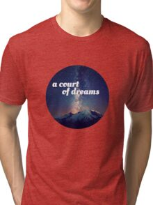 A Court of Mist and Fury Velaris Tri-blend T-Shirt