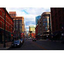 Denver Tilted Photographic Print