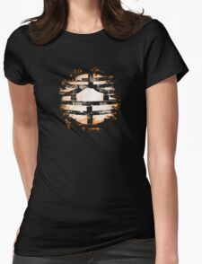 Kanki K Vintage Womens Fitted T-Shirt