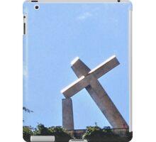 RECIFE BRAZIL THE TILTED CROSS iPad Case/Skin
