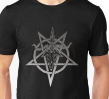 Atheistic Satanism (grey) Unisex T-Shirt