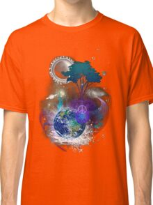 Cosmic geometric peace Classic T-Shirt