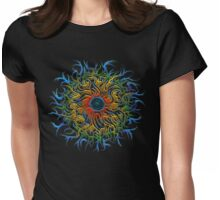 Eye of Cosmos Womens Fitted T-Shirt