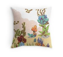 Warm Desert Afternoon's Greatest Hits Vol. 2 Throw Pillow