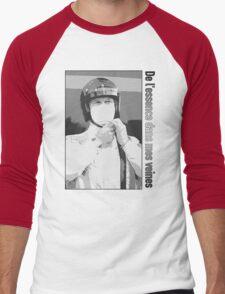 DLEDMV - Spirit n&b Men's Baseball ¾ T-Shirt