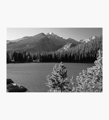 Bear Lake Monochrome Photographic Print