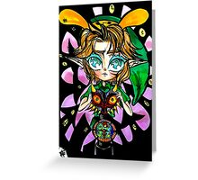 The Legend of Zelda: Majora's Mask Greeting Card