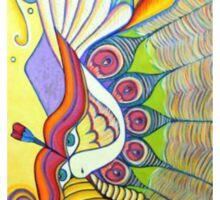 Wind Art Work Sticker