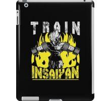 TRAIN INSAIYAN - Goku Lifting Dumbbells iPad Case/Skin