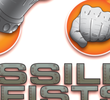 Missile Fists Sticker