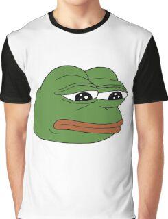 Pepe the Sad Frog Graphic T-Shirt