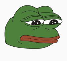 Pepe the Sad Frog by catfantastic