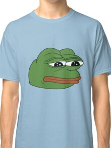 Pepe the Sad Frog Classic T-Shirt