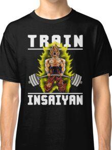 TRAIN INSAIYAN (Goku Deadlift) Classic T-Shirt