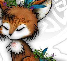 Celtic Spirit Fox Sticker