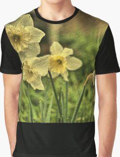 Nodding Golden Daffodils Graphic T-Shirt