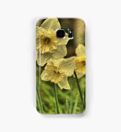 Nodding Golden Daffodils Samsung Galaxy Case/Skin