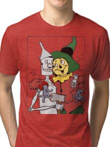 Scarecrow and Tinman Tri-blend T-Shirt