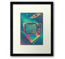 Bowling TV Night Out Framed Print