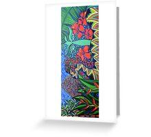Earth art work Greeting Card