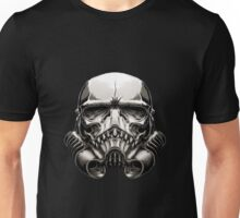 Skeleton Stormtrooper Helm Unisex T-Shirt